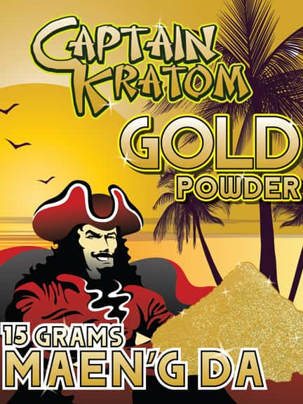 Kratom Gold Reserve Review from Captain Amsterdam and Other Brands
